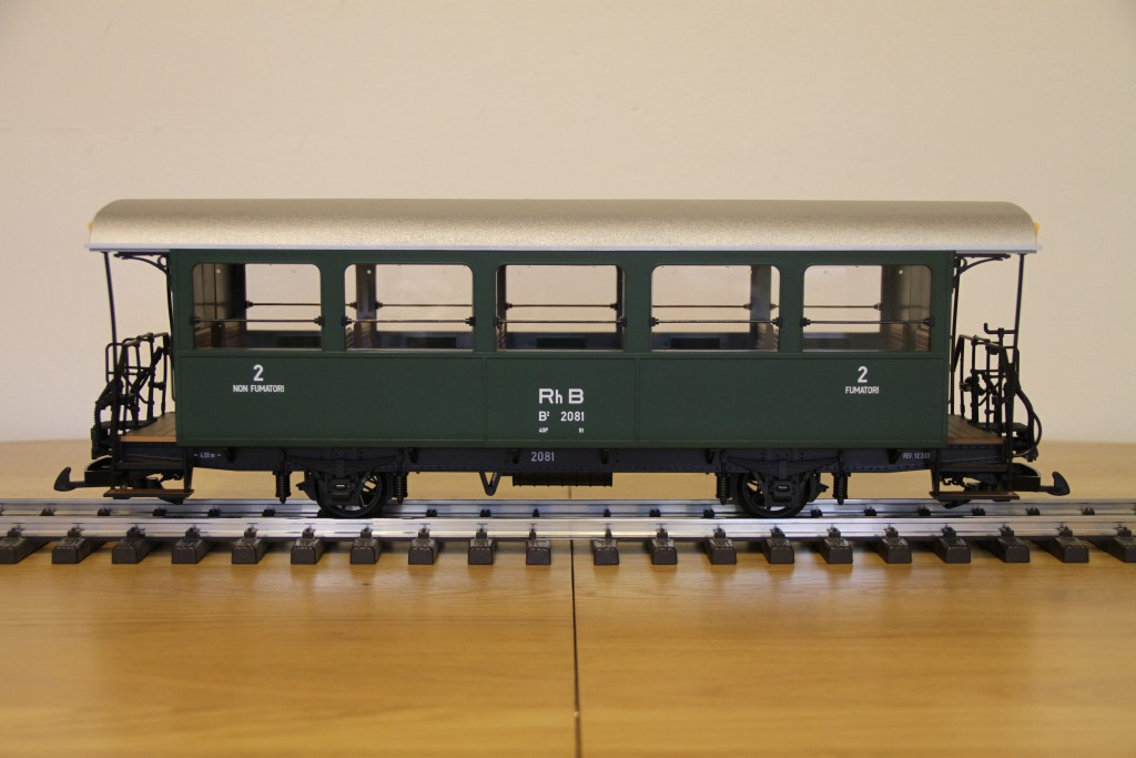 Car Side View >> WWW.RAILMAN.CZ - Rolling-stock - Passenger car of the 2nd class RhB B2 2081